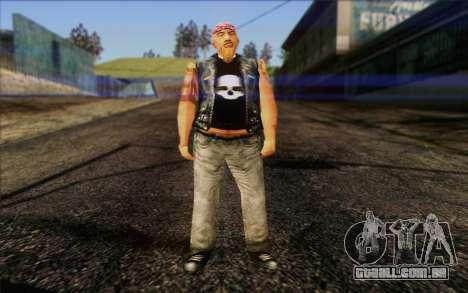 Biker from GTA Vice City Skin 1 para GTA San Andreas