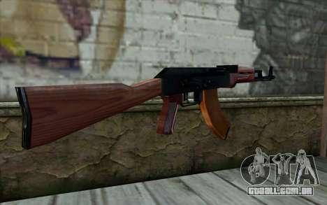 АКМ a partir de Meia - Vida Paranóia para GTA San Andreas segunda tela