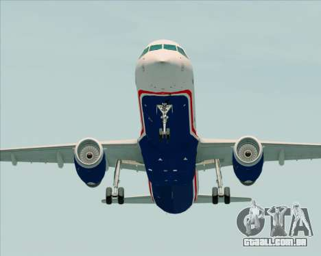 Airbus A321-200 US Airways para GTA San Andreas vista direita