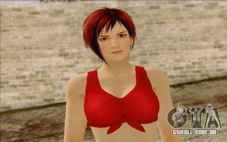 Mila 2Wave from Dead or Alive v8 para GTA San Andreas terceira tela
