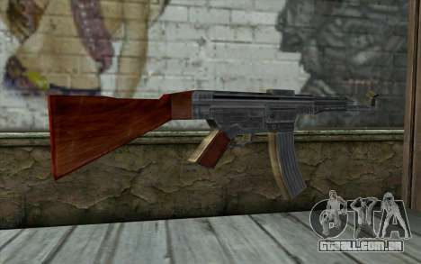 StG-44 from Day of Defeat para GTA San Andreas segunda tela