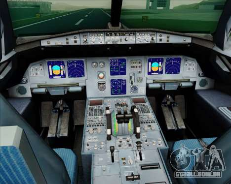 Airbus A321-200 LTU International para GTA San Andreas interior