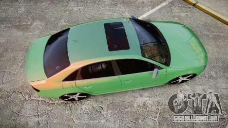 Audi S4 2010 FF Edition para GTA 4 vista direita