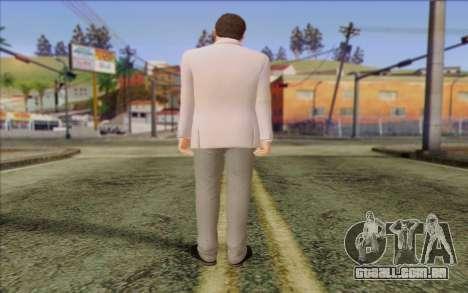 Michael from GTA 5 para GTA San Andreas segunda tela