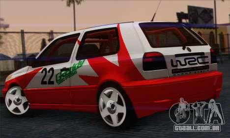Volkswagen Golf Mk3 para GTA San Andreas esquerda vista