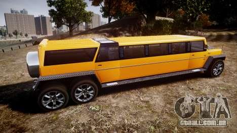 Carver Patel para GTA 4 esquerda vista