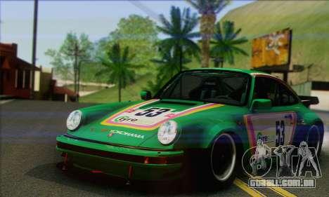 Porsche 930 Turbo Look 1985 Tunable para GTA San Andreas vista inferior