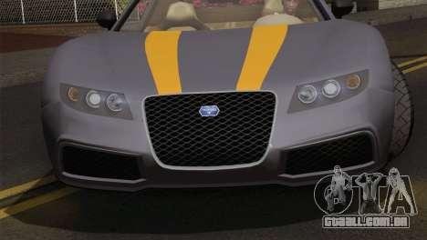 GTA 5 Adder (IVF) para GTA San Andreas