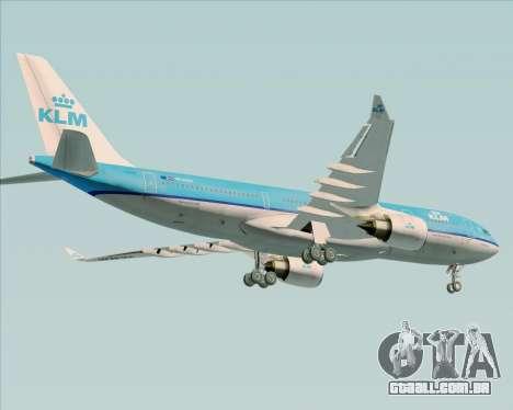 Airbus A330-200 KLM - Royal Dutch Airlines para o motor de GTA San Andreas