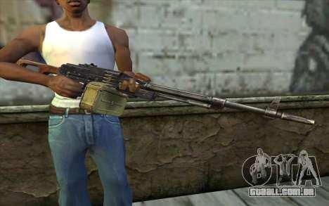 A Metralhadora Kalashnikov Modernizado para GTA San Andreas terceira tela