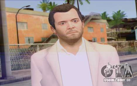 Michael from GTA 5 para GTA San Andreas terceira tela
