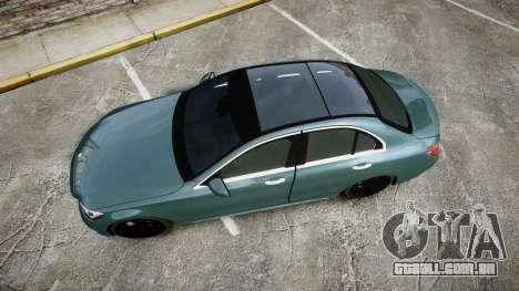 Mercedes-Benz C250 para GTA 4 vista direita