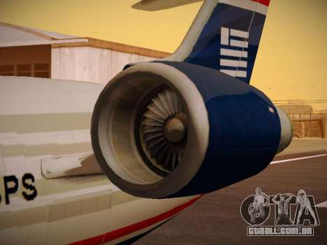 Bombardier CRJ-700 US Airways Express para as rodas de GTA San Andreas