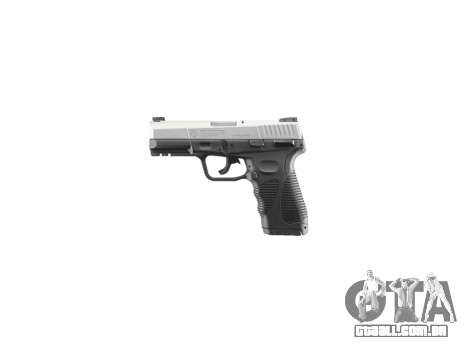 Pistola Taurus 24-7 de titânio icon2 para GTA 4 terceira tela