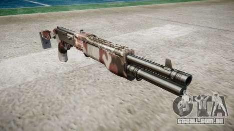 Ружье Franchi SPAS-12 Vermelhos para GTA 4