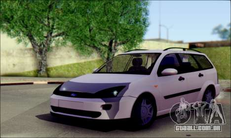 Ford Focus 1998 Wagon para GTA San Andreas