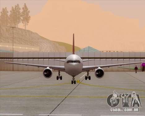 Boeing 767-300ER Qantas (Old Colors) para GTA San Andreas interior