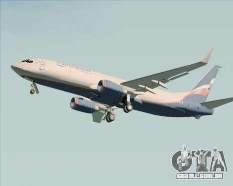 Boeing 737-8LJ Aeroflot - Russian Airlines para GTA San Andreas vista superior