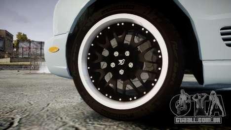 Bentley Arnage T 2005 Rims1 Black para GTA 4 vista de volta