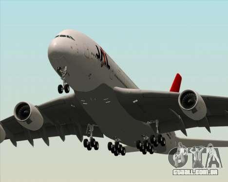 Airbus A380-800 Japan Airlines (JAL) para as rodas de GTA San Andreas