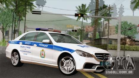 A Mercedes-Benz E63 AMG 2014 ДПС para GTA San Andreas