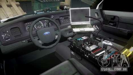 Ford Crown Victoria LC Sheriff [ELS] para GTA 4 vista de volta