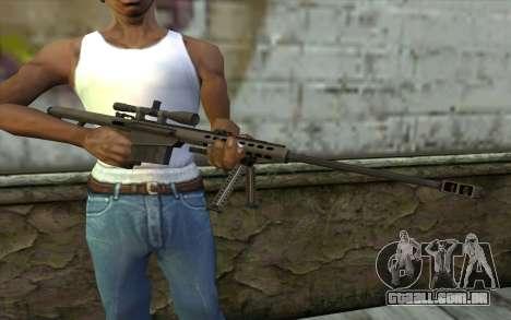 M107 para GTA San Andreas terceira tela
