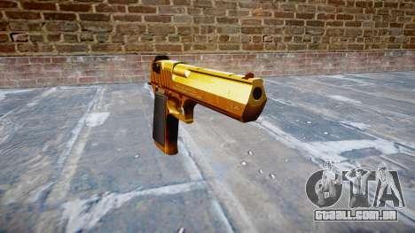 Arma de IMI Desert Eagle Mk XIX Ouro para GTA 4