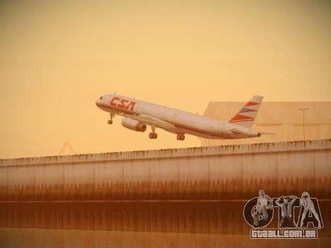 Airbus A321-232 Czech Airlines para as rodas de GTA San Andreas