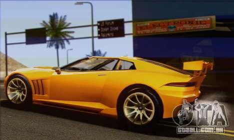 Invetero Coquette para GTA San Andreas esquerda vista