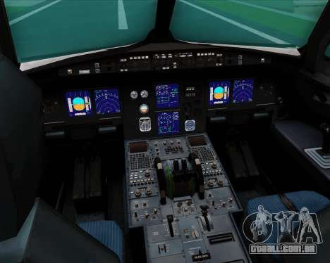 Airbus A321-200 US Airways para GTA San Andreas interior