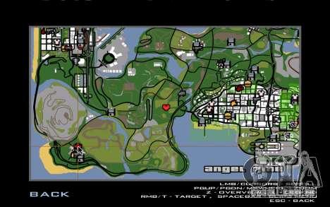 Novo CJ casa em Angel Pine para GTA San Andreas quinto tela