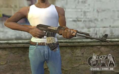 AK47 from Firearms v2 para GTA San Andreas terceira tela
