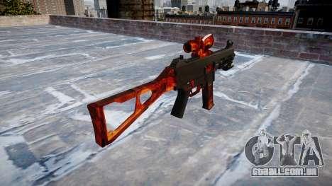 Arma UMP45 Bacon para GTA 4 segundo screenshot