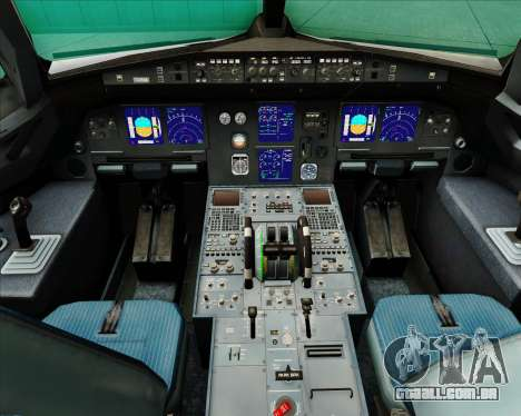 Airbus A321-200 Swiss International Air Lines para GTA San Andreas interior