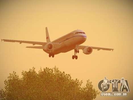 Airbus A320-214 Aeroflot Retrojet para GTA San Andreas