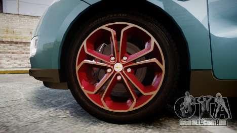 Chevrolet Volt 2011 v1.01 rims2 para GTA 4 vista de volta