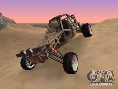 Atualizado Bandito para GTA San Andreas para GTA San Andreas vista direita