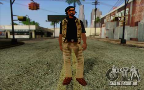 Yardies from GTA Vice City Skin 2 para GTA San Andreas