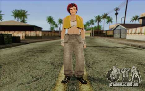 Mila 2Wave from Dead or Alive v15 para GTA San Andreas