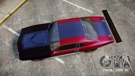 Declasse Sabre GT para GTA 4 vista direita
