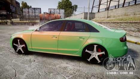 Audi S4 2010 FF Edition para GTA 4 esquerda vista