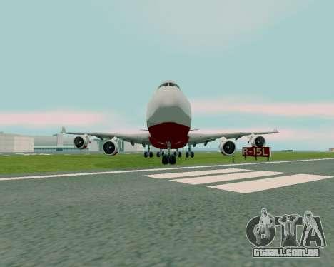 FlyUS para GTA San Andreas vista direita