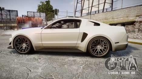 Ford Mustang GT 2014 Custom Kit PJ2 para GTA 4 esquerda vista
