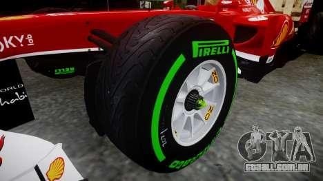 Ferrari F138 v2.0 [RIV] Alonso TIW para GTA 4 vista de volta