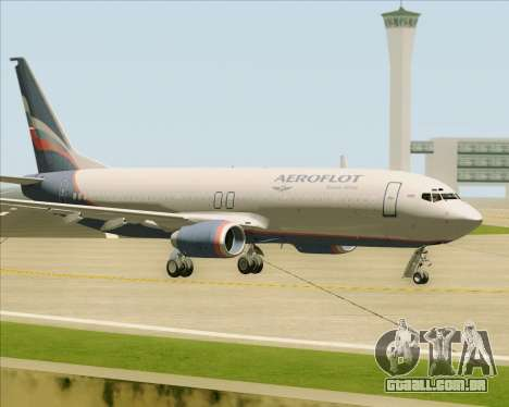 Boeing 737-8LJ Aeroflot - Russian Airlines para GTA San Andreas vista interior
