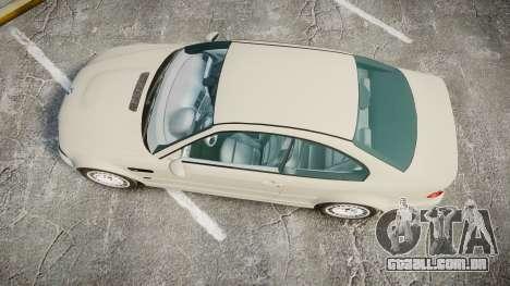 BMW M3 E46 2001 Tuned Wheel White para GTA 4 vista direita