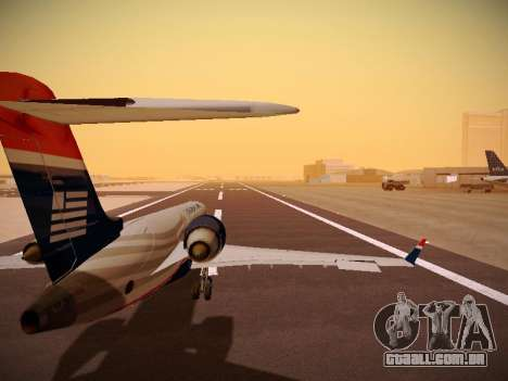 Bombardier CRJ-700 US Airways Express para GTA San Andreas