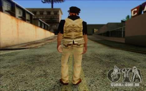 Yardies from GTA Vice City Skin 2 para GTA San Andreas segunda tela