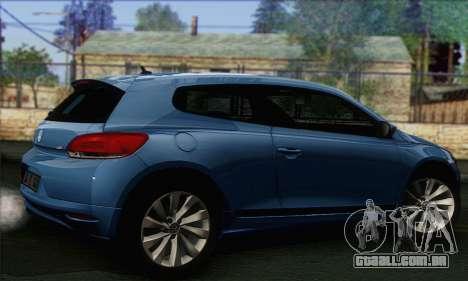 Volkswagen Scirocco 2011 para GTA San Andreas esquerda vista